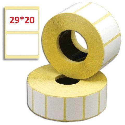 Термотрансферная этикетка 29x20