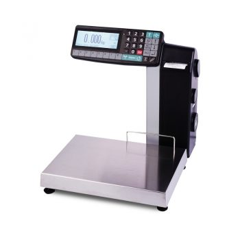 Весы с печатью этикеток МАССА-К МК-6(15,32).2-RL-10-1