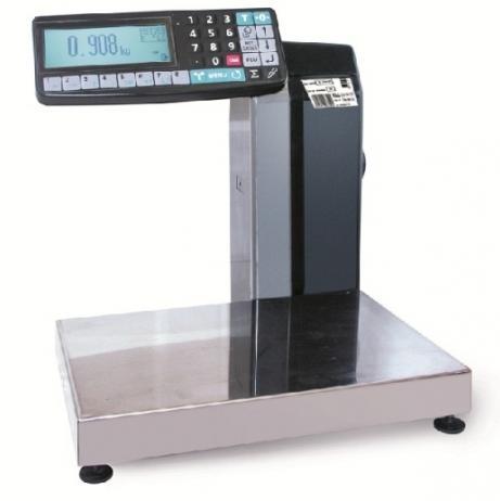 Торговые весы с печатью этикетки МАССА-К МК-6(15,32).2-R2L-10-1