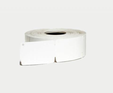 Ювелирные бирки в рулонах Polyplast 150 30х50,8 мм серебристые с двух сторон (1/500/40)