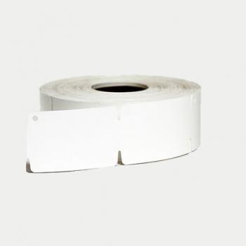 Ювелирные бирки в рулонах Polyplast 150 30х50,8 мм белые (1/500/40)